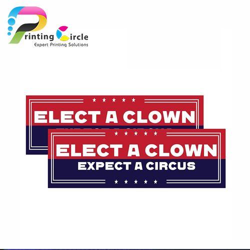 campaign bumper stickers