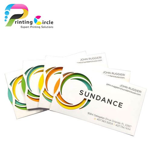 die-cut-business-cards-printing
