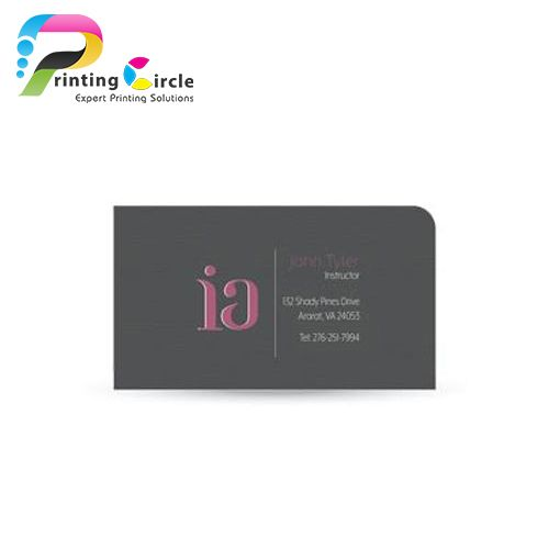 single-rounded-corner-business-cards